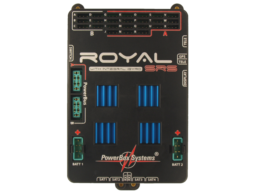 PowerBox Royal SRS | radio control models,engines,servos ...
