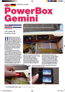 "Test PowerBox Gemini in ""RC Jet International"""